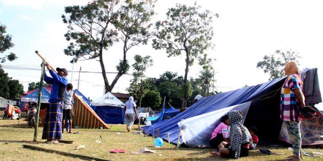 L'île de Lombok en Indonésie frappée par de multiples séismes, plusieurs morts