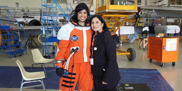 Shawna Pandya with her mother Indira Pandya.