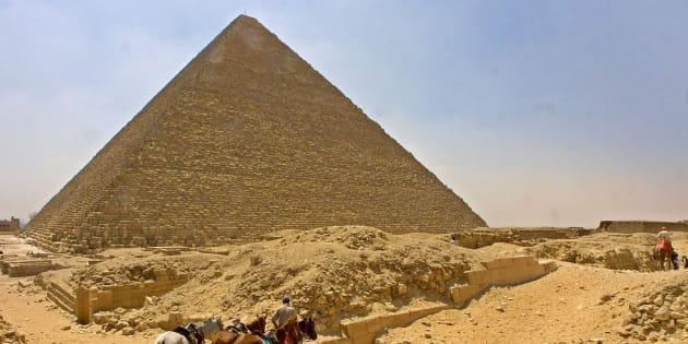 La pyramide de Khéops en Egypte pourrait nous livrer de nouveaux secrets