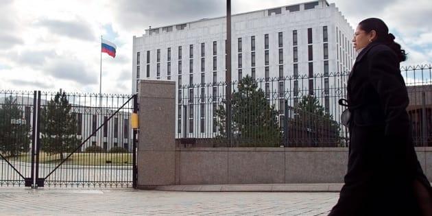 En hommage à Boris Nemtsov,  Washington dédie une avenue à l'opposant russe assassiné... devant l'ambassade russe.