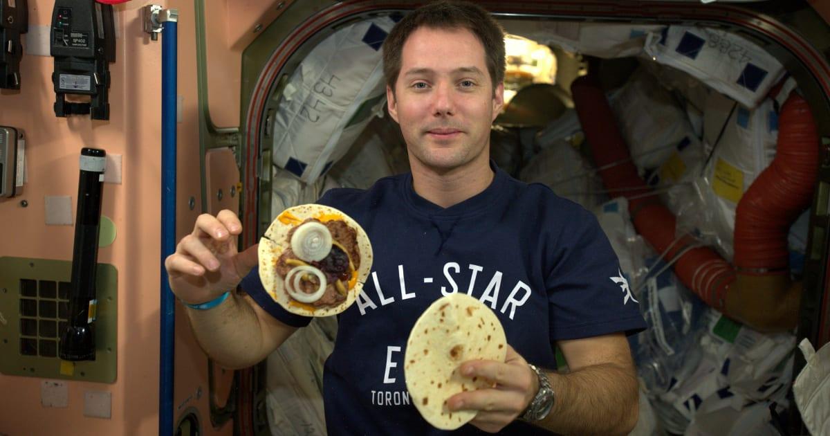 Les astronautes de l 39 iss vont pouvoir se faire du pain for Congeler du pain frais
