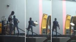 La Poste fait scandale avec cette vidéo d'un employé jetant des