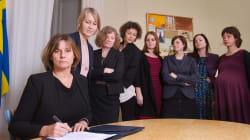 Le gouvernement suédois signe une loi sur l'environnement et en profite pour parodier