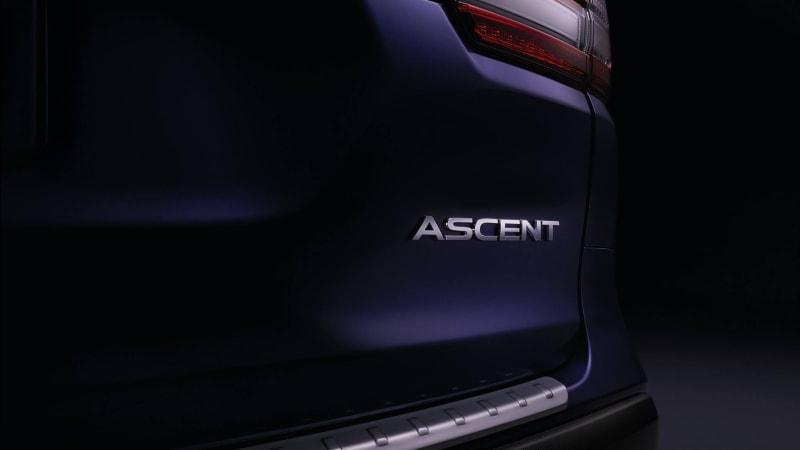 Subaru Ascent 3-row SUV to debut at 2017 LA Auto Show