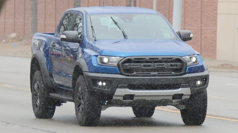 Upcoming Ford Ranger Raptor spotted testing in Michigan ...