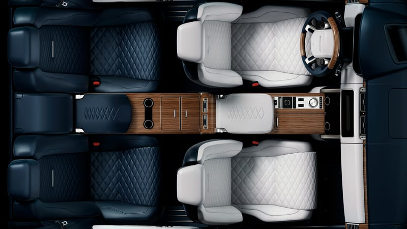 Land Rover teases Range Rover SV Coupe with interior photo