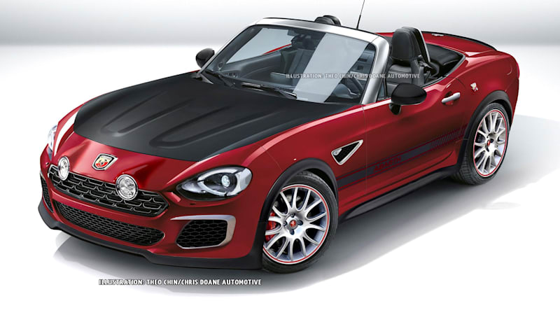 Fiat Is Finally Back In The Sports Car Business, As Evidenced By The Reveal  Of The 2017 124 Spider At The Los Angeles Auto Show.