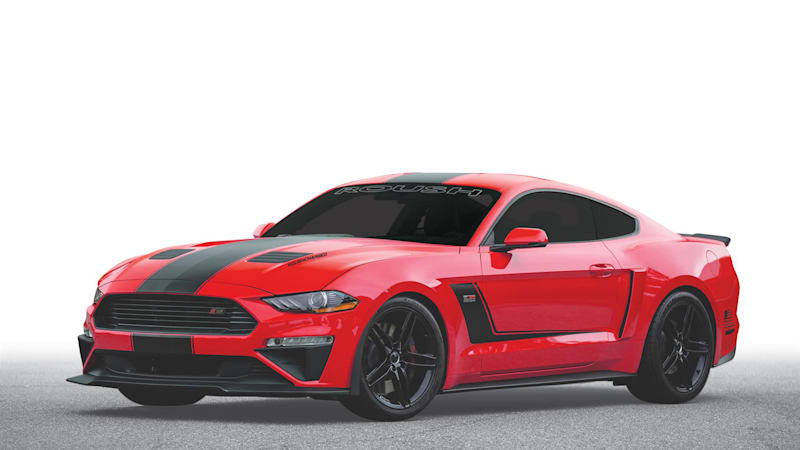 Roush supercharges the Mustang to 710 horsepower