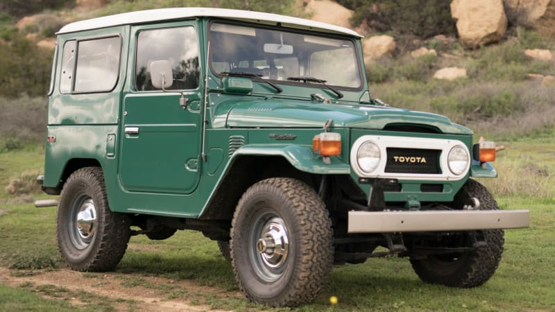 5,000-mile 'absurd original condition' 1978 Toyota Land Cruiser for sale