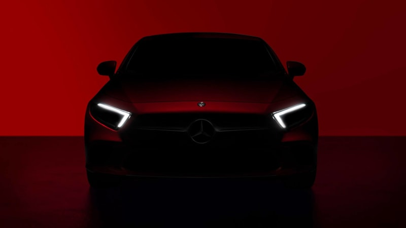 Mercedes-Benz Teases Upcoming CLS Coupe