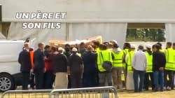 Les images des premières funérailles après l'attentat de
