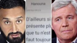 Masure dévoile les SMS d'insultes de Hanouna (qui dément les avoir