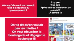 L'allocution de Macron a mis le feu aux pages Facebook des gilets