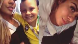 La soeur de Neymar s'est déboîtée l'épaule en célébrant un but de son frère contre le Costa