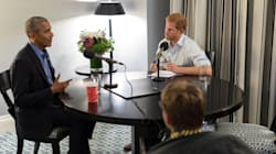Prince Harry Interviews Barack Obama In New Kensington Palace