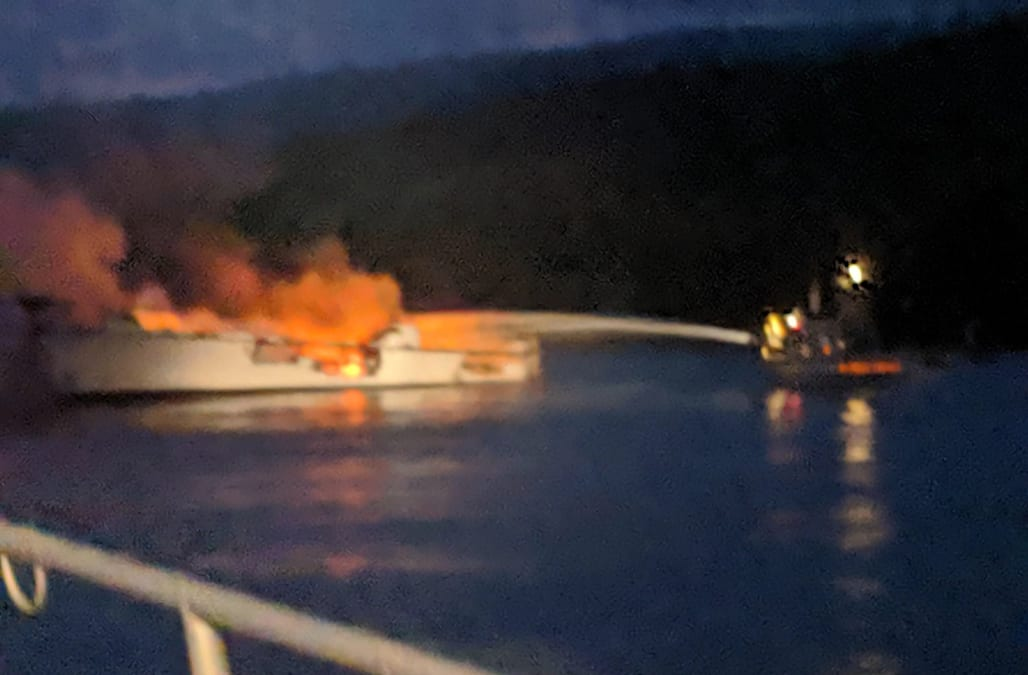 Image result for Eight dead, dozens missing after California Boat fire