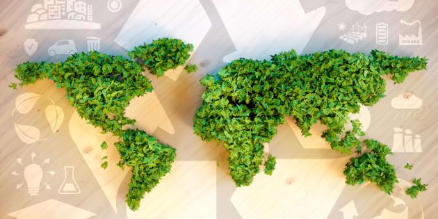 Les entreprises américaines ouvrent la voie dans la lutte contre le changement climatique. Illustration.