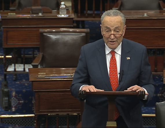 Schumer calls on Trump to appoint 'military man'