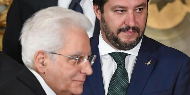 Salvini non manda al Colle la bozza del decreto