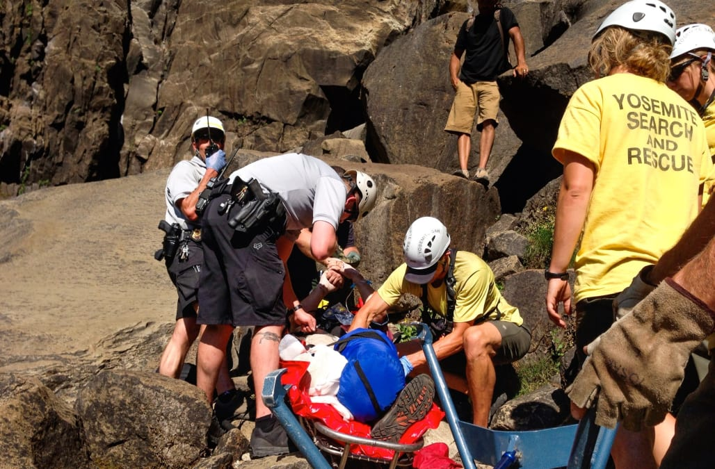 Tourist plummets to death near Yosemite waterfall after slipping off