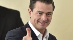 Así festejó Peña Nieto su cumpleaños en