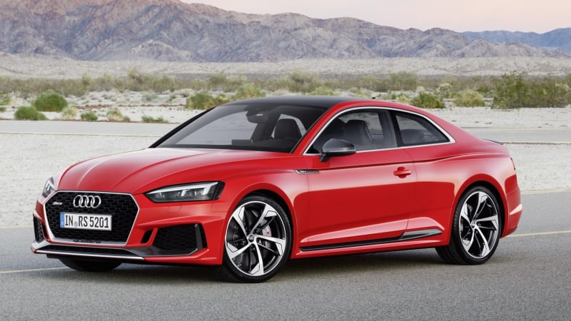 2018 Audi RS5 Coupe Drivers