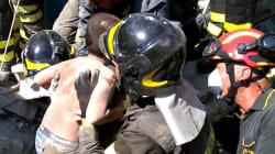 Deux morts et un enfant en vie sous les décombres après un séisme sur un île en face de