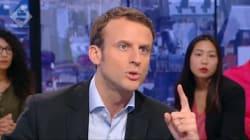 Quand Macron n'est