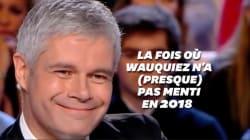 La fois où Laurent Wauquiez n'a (presque) pas menti en