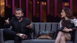Sara Ali Khan Got Reallllly Awkward As Saif Discussed His Sex Life With Kareena On Koffee With