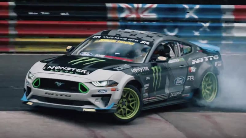 2f17aeb442705 Watch a 900-hp Ford Mustang around drift the Nurburgring - Autoblog