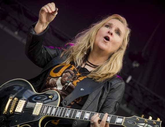 Melissa Etheridge busted for drug possession