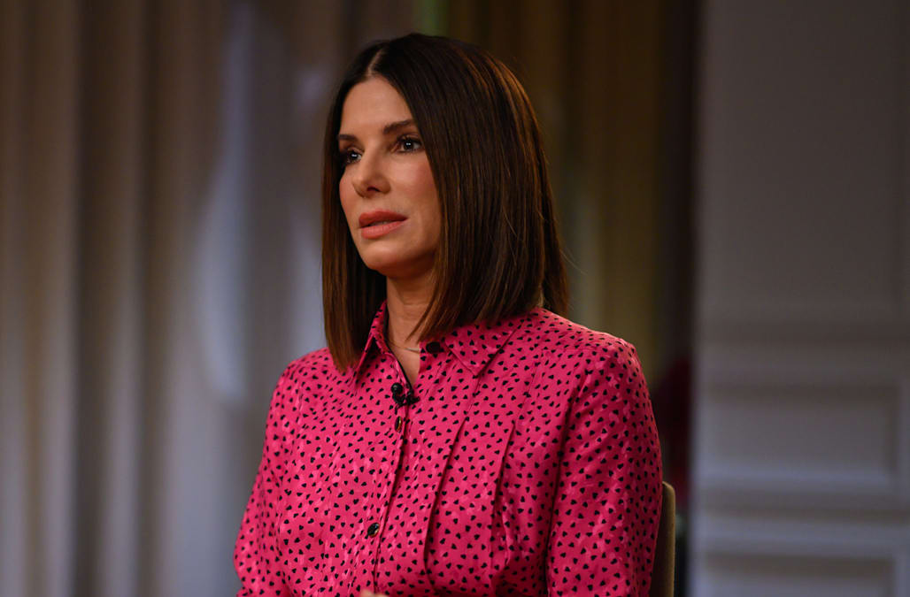 Sandra Bullock recalls losing her father and two dogs just weeks