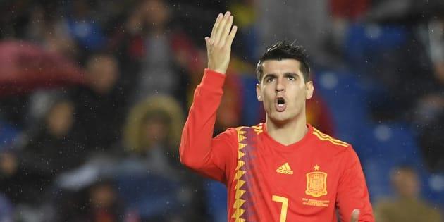 Alvaro Morata avait beau grogner, il a enchaîné les ratés lors de sa semaine avec l'équipe nationale de football d'Espagne.
