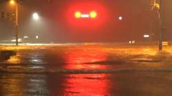 Les inondations spectaculaires provoquées par l'ouragan Nate dans le