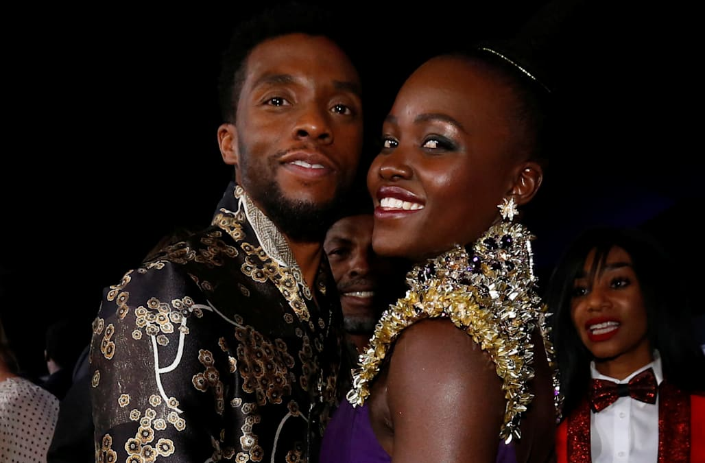 Lupita Nyong O Calls Death Of Black Panther Co Star Chadwick Boseman A Punch To My Gut In Moving Tribute Aol Entertainment
