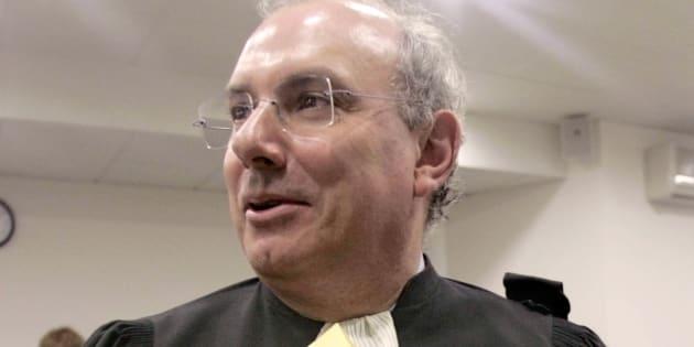 Maître Gérard Boulanger, en mai 2005, quand il présidait la Ligue des droits de l'homme (LDH) de Gironde.
