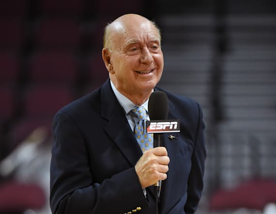 Dickie V on what to watch, eat during March Madness