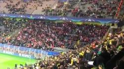 Le beau réflexe des supporters monégasques dans les tribunes après l'annonce des
