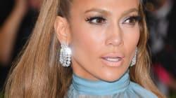 El loco vestido (y el loco pastel) de Jennifer Lopez para celebrar sus 48