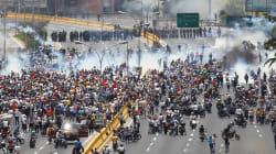 Hasta 200 heridos por protestas en