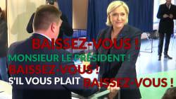 Le président du bureau de vote de Marine Le Pen a passé un sale quart