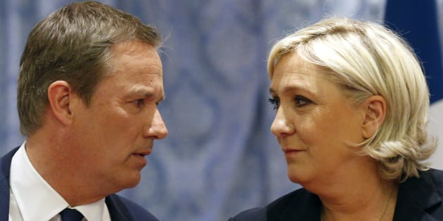 Nicolas Dupont Aignan pas pressé de saisir la main tendue de Marine Le Pen.