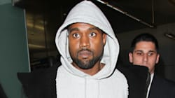 Newly Blond Kanye West Makes First Appearance After