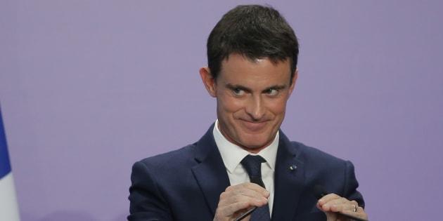 Manuel Valls en conférence de presse à Nancy le 2 décembre 2016. REUTERS/Vincent Kessler