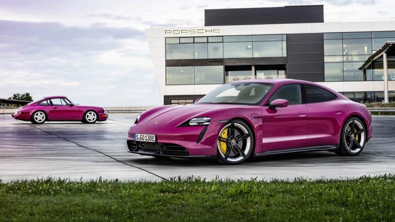 Porsche Taycan EV outselling the 911