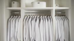 Tirar, lavar, guardar: trucos para el cambio de