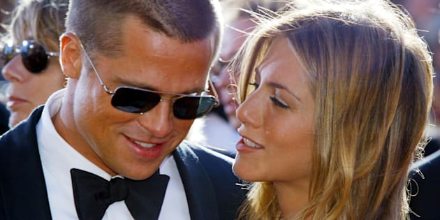 """Brad Pitt e Jennifer Aniston si scambiano messaggi&quo"