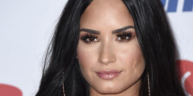 La actriz y cantante Demi Lovato, fotografiada el 1 de diciembre de 2017 en California.