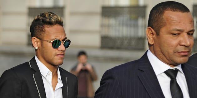 Le père de Neymar prend la défense de son fils après Real/PSG